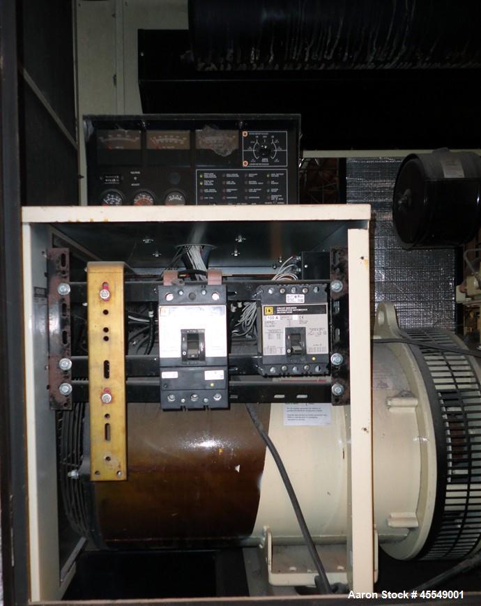 Used- John Deere / Kohler 61 kW diesel generator, model 60REOZJB. John Deere 404