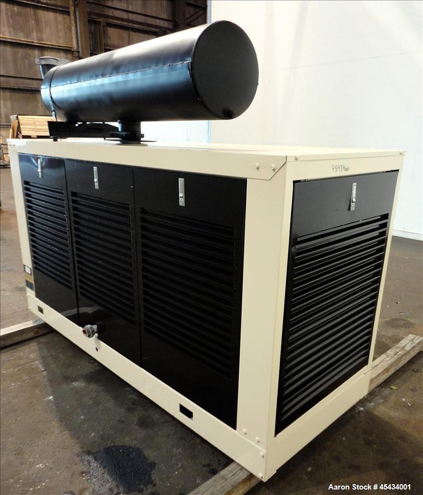 Used- Kohler 80 kW Standby Natural Gas Generator Set, Model 80RZ72, Serial #388591. Ford LSG 875 engine rated 132 hp @ 1800 ...