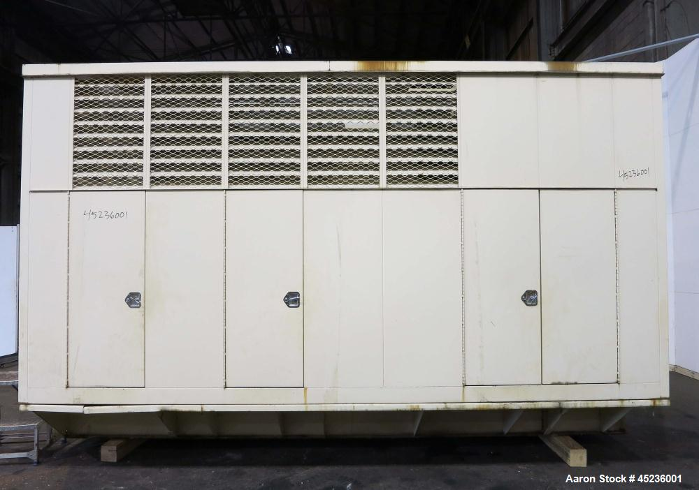 Used- Kohler 825 kW standby diesel generator set, model 900ROZD, SN-384623. Detroit Diesel 24V-71TA engine rated 1550 HP at ...
