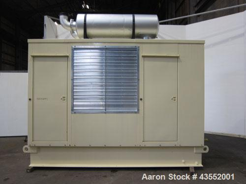 Used- Kohler 600 kW Diesel Generator Set, model ROZD81, serial #360392. Detroit Diesel engine 12V92TA. 3/60/277/480V. 1200 A...