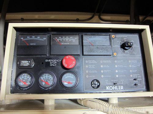 Used- Kohler 600 kW Diesel Generator Set, model ROZD81, serial #360392. Detroit Diesel engine 12V92TA. 3/60/277/480V. 1200 A...