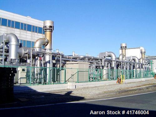 Used-Komatsu Power Station. The plant is comprised of (10) Komatsu SAA6D170E 727 hp/545 kW engines with Yaskawa Electric SBO...