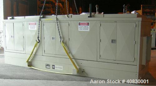 Used-Solar/Saturn 1000 kW Gas Turbine Generator Set, Diesel Fueled, Model KS22673, Assembly 37061, Serial #8425602. 3/60/480...