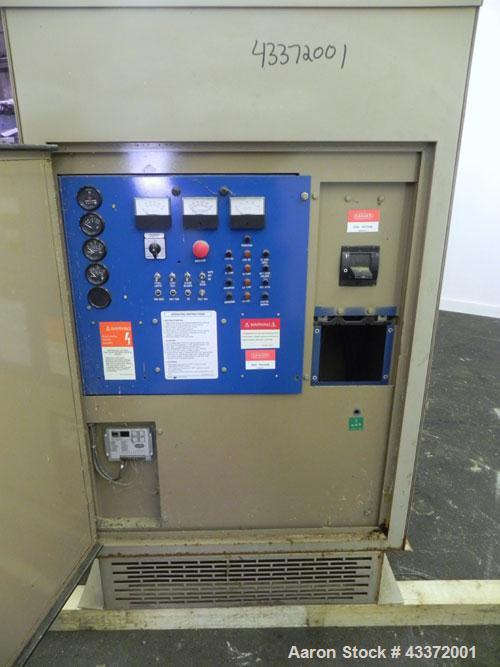 Used- Magnetek 100 kW standby natural gas generator set, model RNS 1250 SN-PM078611. Ford model LSG-8751-6007-ZA engine SN-0...