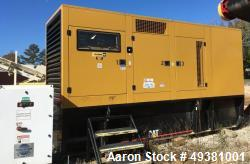 Used- Caterpillar / CAT Generator, 500 kW Standby Diesel Generator Set