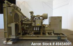Used- Cummins 480 kW Standby Natural Gas Generator Set. Packaged by SPP Model 480GTA28-6S-8.5. Cummins GTA28 engine rated 71...