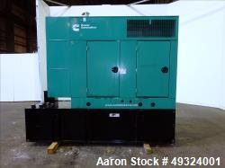 Used- Cummins 35kW Standby Diesel Generator Set, Model DSFAA10232879