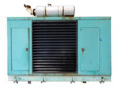 Used-Cummins 500 kW natural gas generator. Cummins GTA28 engine.