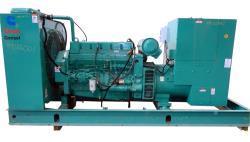 Used- Onan 250 kW Standby Diesel Generator Set, Model 250DFAC, SN-L920494533