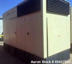 Used- KOHLER 450KW Standby Diesel Generator, Model 450REOZD4.