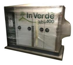 Unused- Tecogen Inverde Natural Gas Engine Generator, Model INV-100, 100 kW.