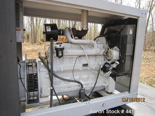 Used- Detroit Diesel Spectrum 95 kW diesel generator set, Model 100 D8J, SN-0699814. John Deere model 6059TF003 engine SN-CD...