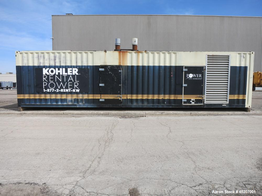 Used- MTU / Kohler 1750 kW Standby Diesel Generator Set, Model 1750ROZD4.