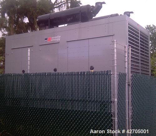 Used-MTU Onsite Energy 750 KW Diesel Generator Set.  MTU Onsite Energy Model 750RXC6DT2, Serial # 308-679-1-1-0509.  Detroit...
