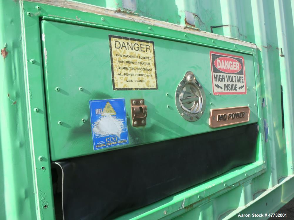 Used-Detroit Diesel / MTU 1000 kW portable / trailered rental grade  gen set.