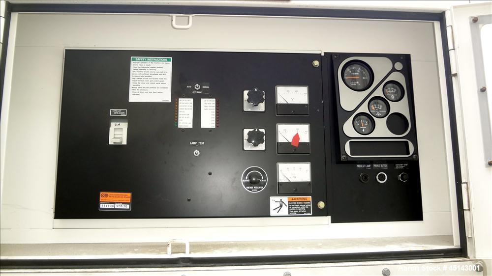 Used- MQ / Multiquip 158kW standby, 144kW (180kVA) prime, portable / trailered diesel generator set, model DCA-180SSK, SN-37...
