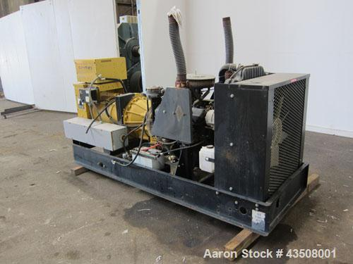 Used- Cat / Olympian 100 kW propane fueled generator set, model 96A0749S, SN-2026003. GM 7.4L engine. 3/60/120/208V. (2) 150...