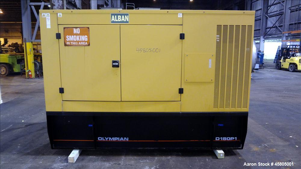 Used- Caterpillar / Olympian 150 kW diesel generator set