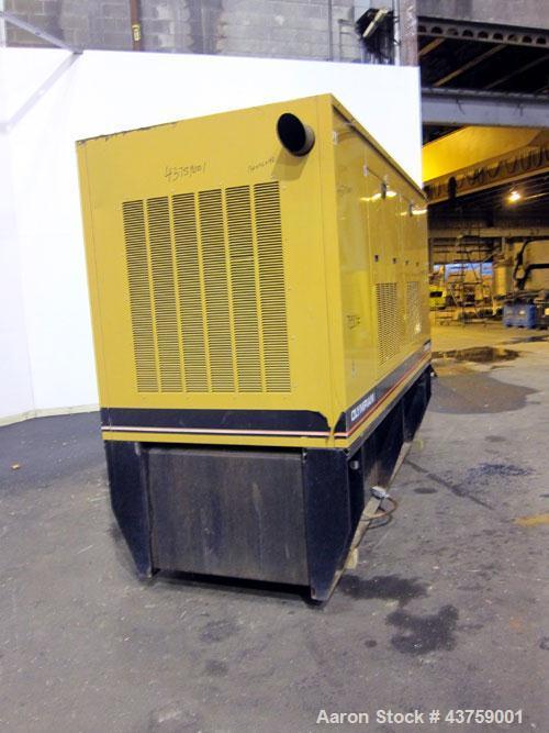 Used- Caterpillar /Olympian 150 kW Diesel Generator Set, model D150P2, SN-D4690A1001, Perkins Engine, 3/60/277-480V, current...