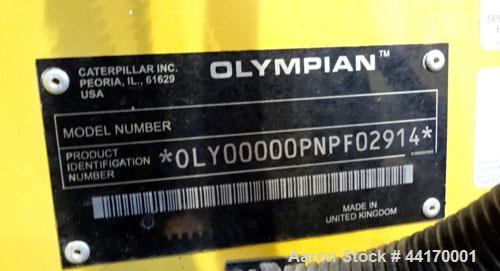 Used- Cat / Olympian 40kW Standby (36kW prime) Trailered Diesel Generator Set, Model D40P2, SN-OLY00000PNPF02914. Perkins en...