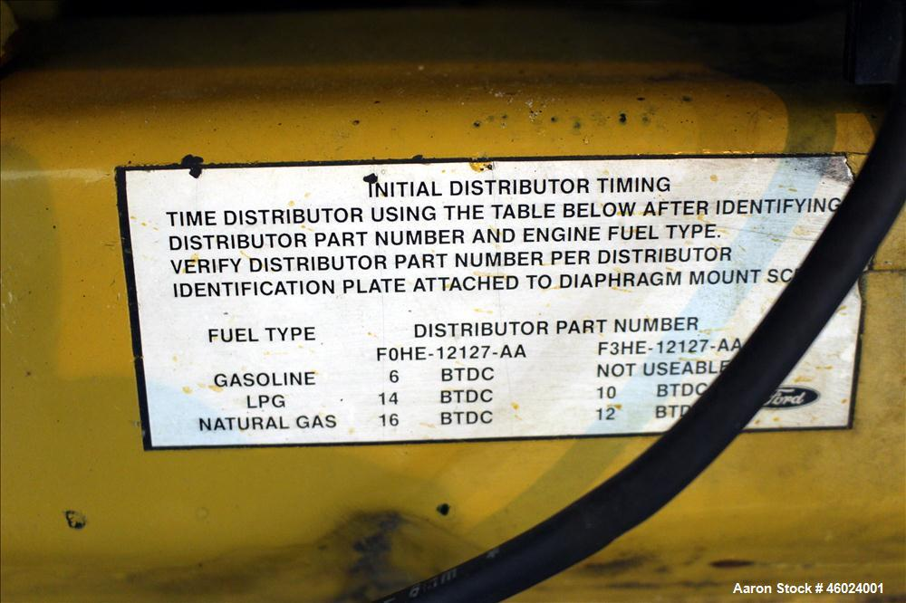 Used- Caterpillar / Olympian 100 kW natural gas generator, model G100F1. Ford LS
