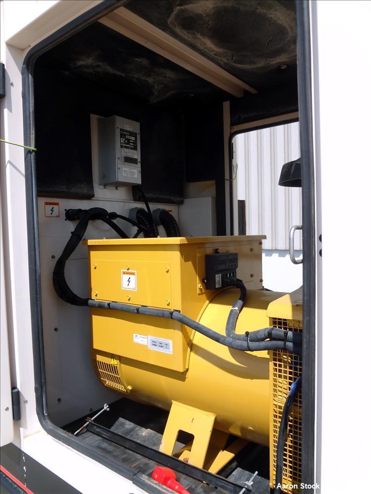Used- Caterpillar / Olympian XQ105 105 kW diesel generator. Perkins engine.