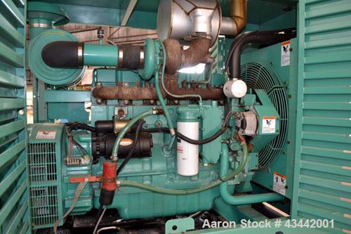 Used- Cummins Onan 125 kW diesel generator set.Cummins model 125DGEA SN0B960598871.Cummins 6CT8.3-G engine rated 207 HP at 1...