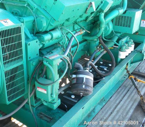 Used- Cummins Onan 750 kW Standby Diesel Genset, Model 750DFJA. Cummins model KTA38-G1 engine rated 1135 HP @ 1800 RPM. Engi...