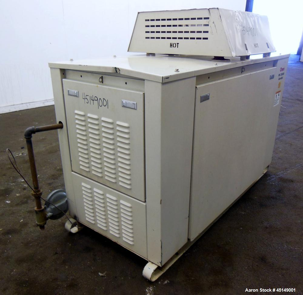 Used- Cummins Onan 20kW RS 20000 natural gas generator set, model 20GGDB-4378, SN-G040675187. Ford LRG425 engine, SN-1309583...