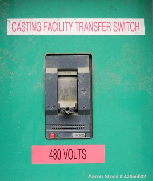 Used- Cummins 230 kW standby (210 kW prime) diesel generator set, model DFAB-5563454, serial #G020390034. Cummins LTA10-G1 r...