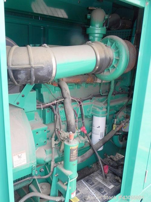 Used- Cummins 500 kW standby (455kW prime) diesel generator set, model DFEK-5706978D SN-F050792988. Cummins QSX-15-G9 rated ...