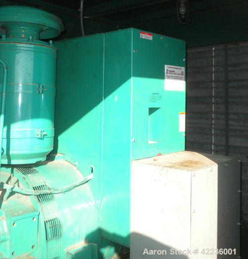 Used- Cummins / Onan 250kW standby diesel generator set. Generator set model 250DFM L28920N, SN-E890238107. Cummins NT-855-G...