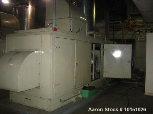 Used-Solar Saturn 800 kW continuous / 900 kW standby gas turbine generator set, model GC1-SB-MA. Marathon Electric Magna One...