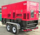 Used- Baldor Model TS250T Mobile 200kW Standby Rated/182kW Continuous Rated Diesel Generator Set. John Deere diesel engine m...