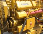 Used- CAT 500 kW continuous diesel generator set. Caterpillar model 3412 engine, serial #81Z25339, rated 823 hp @ 1800 rpm. ...