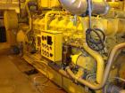Used CAT 1300 kW cont rated natural gas generator set. CAT G3516B natural gas engine. CAT generator end model SR4B 3/60/480V...