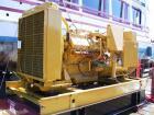 Used-Cat 500 kW Diesel Generator Set. Caterpillar model 3412 DITTA engine rated 742 HP @ 1800 RPM. Caterpillar SR4 generator...