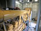 Used-Caterpillar 2000 kW diesel generator set. CAT 3516B engine