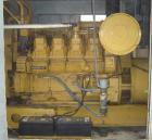 USED: Caterpillar 3508 diesel generator set. 1125 kva, 900 kw, 480 volts, 60 hz and 1353 amps. Includes ATS. Year 1991. 1500...