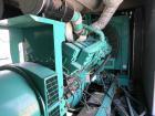 Used- Cummins 1500 kW Standby (1250 Prime) Diesel Generator Set, Model 1500DFLE-95039A, Serial #990004644. Cummins KTA50-G9 ...