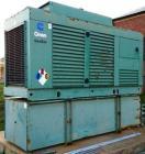 Used-Cummins 400kW standby diesel generator set, model DFCE-4956771, SN-30365551. Cummins NTA855 engine rated 605 HP @ 1800 ...