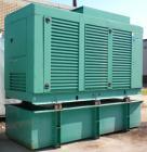 Used- Cummins 500kW Diesel Generator Set, Model DFED-5557354, serial# E020373680. Cummins KTA19-G4 diesel engine, 6 cylinder...