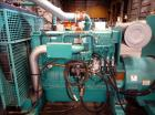 Used- Cummins 500 kW diesel generator, model DFEK. Cummins QSX15-G9 engine.