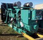 UNUSED Cummins 1000 kW diesel generator DQFAD. Cummins QST30-G5 NR2, EPA Tier 2