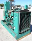 Used- Cummins 150 kW Natural Gas Generator Set. Cummins model GGKD-5630856, serial #I030547189. Cummins model GTA8.3G2 engin...