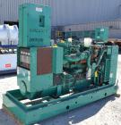 Used- Cummins 150kW natural gas generator set. Cummins model GGKD-5672662,SN-E040646119. Cummins model GTA8.3G2 engine, SN-4...