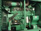 Unused-Used: Cummins Onan 400 kW diesel generator set, model DFCE, 3/60/480V. Sound enclosure, 24 hour fuel tank, 228 hours....