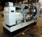 Used- Detroit Diesel Spectrum 500 kW Standby Diesel Generator Set, Model 500DS60