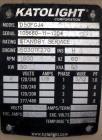 Used- Katolight / John Deere 50 kW standby portable /trailered diesel generator set, model D50FGJ4, SN-105660111204. John De...