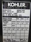 Used- Kohler 58 kW Standby (53 kW Prime) Diesel Generator Set, Model 60REOZJB, Serial #2141423.  John Deere model 4045TF270 ...